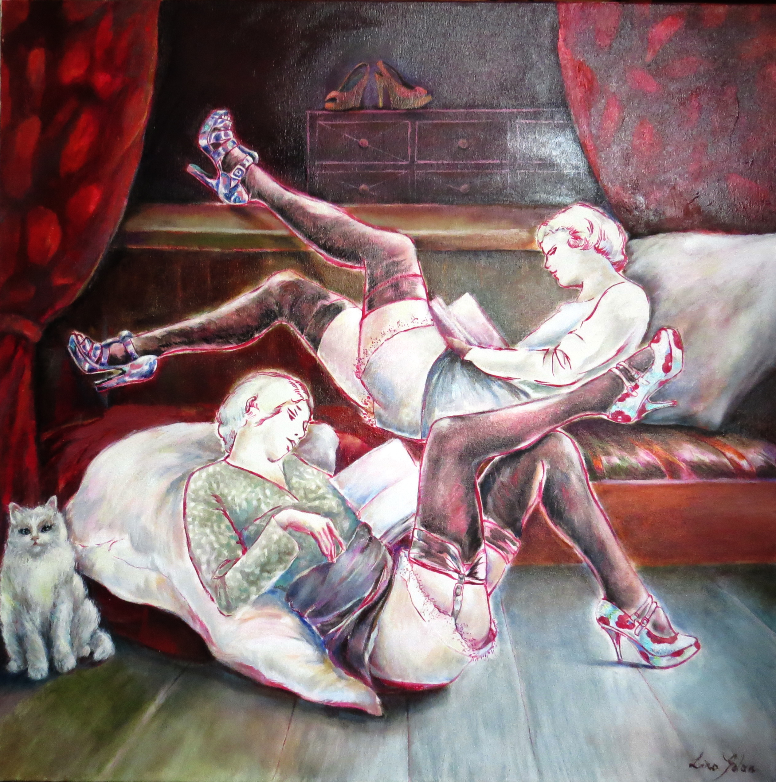 Repose 90X 80 cm Oil on canvas.jpg