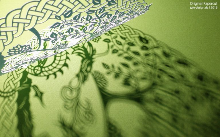 03_scherenschnitt_keltischer-drache_schattenspiel
